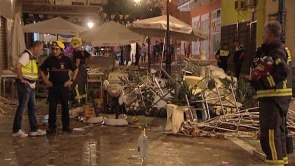 Súlyos gázrobbanás Spanyolországban