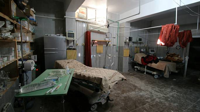 Syria: Aleppo hospital hit again as fighting intensifies