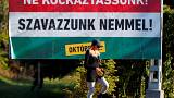 Hungarians vote in referendum on migrant quotas