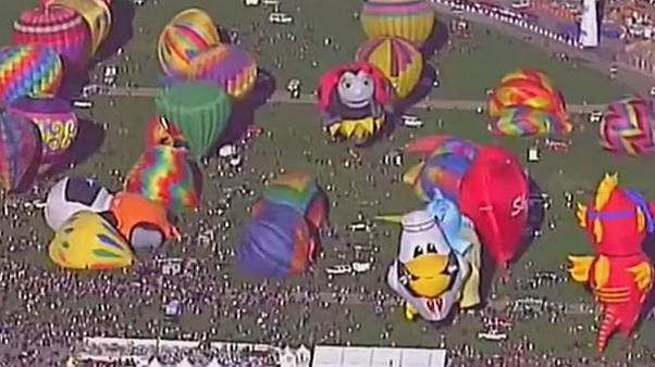 International balloon fiesta in Albuquerque
