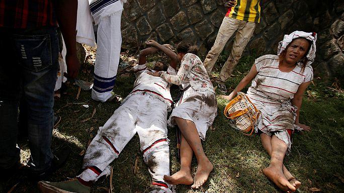 Ünnepi felvonulás Etiópiában halálos áldozatokkal