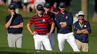 Golfe: Estados Unidos consolidam vantagem na Ryder Cup