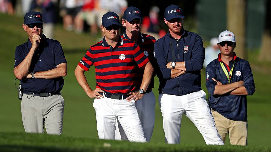 Ryder Cup 2016: United States lead Europe by three going into final day