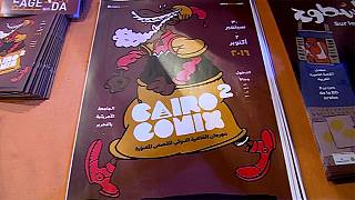 Cairocomix exhibition opens in Cairo