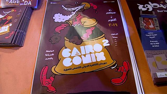 Comics für arabische Erwachsene am Cairo Comix International Festival