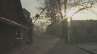 Reconstitution en 3D du camp de concentration d'Auschwitz