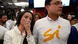 Kolombiya'da hükümet ile FARC arasında sağlanan barış referanduma sunuldu. Halk, anlaşmaya 'hayır' dedi
