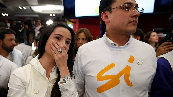Colombians reject landmark peace deal with FARC