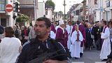 Megnyitották a templomot, ahol iszlamisták megöltek egy papot