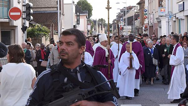 Church in France reopens after priest murder by jihadists