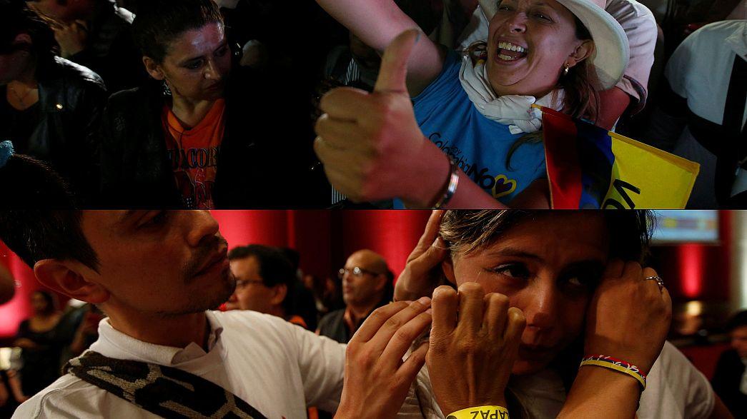 Kolombiya'da 52 yıllık savaşı bitiren anlaşma referandumda reddedildi