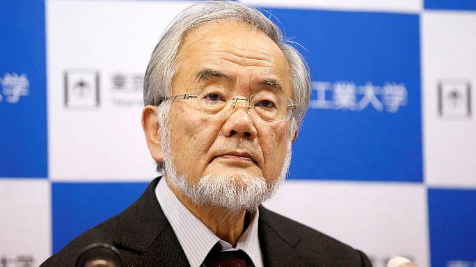 Japán tudós nyerte az orvosi Nobel-díjat