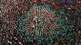 El Concurs de Castells de Tarragona ensalza una tradición con más de 200 años