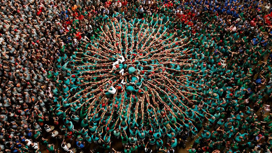 Spain: Tall ambitions for human tower competition