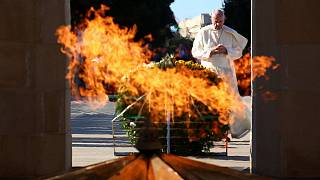 Papa Francisco celebra missa no Azerbaijão