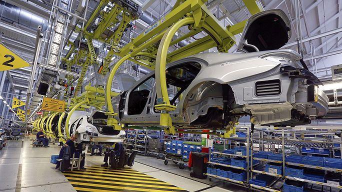 Hausse inégale de l'activité manufacturière en zone euro