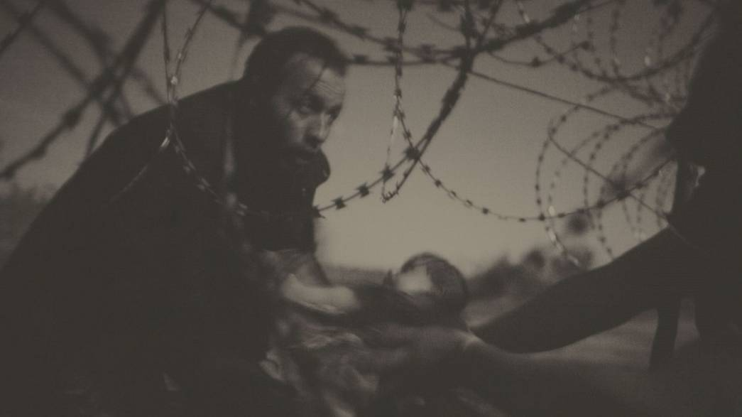 La réalité de l'exode des migrants, en photos, à Budapest