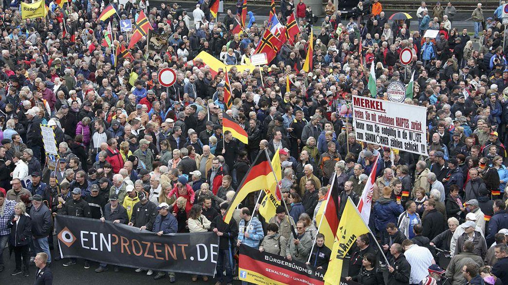 #TdDE16: Polizei und #Pegida in Dresden