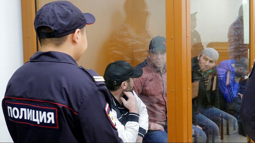 Nyemcov-gyilkosság: ártatlannak vallották magukat a vádlottak