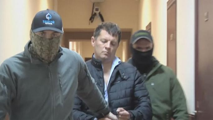 Ukrajna tiltakozik a kémkedés gyanújával őrizetbe vett újságíró miatt