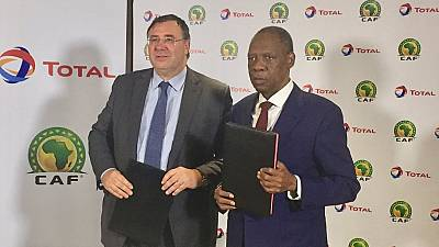 Total and CAF's 8-year sponsorship deal officially signed