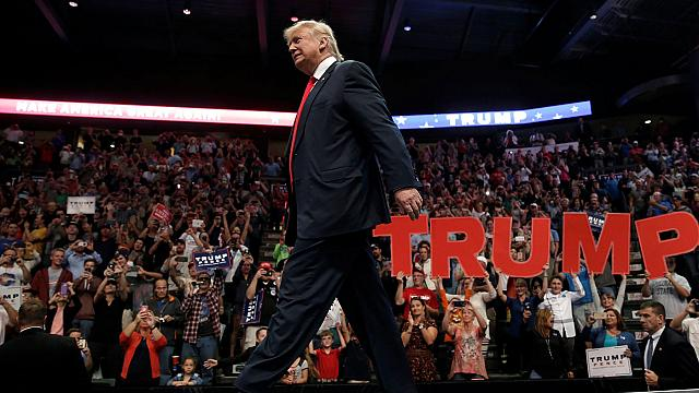 New York'ta Trump'ın vakfına yasal engel