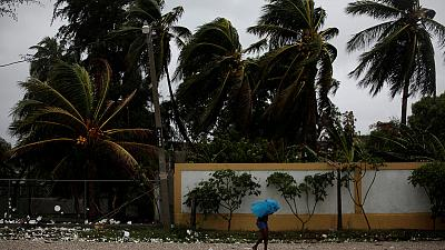 Hurricane Matthew batters the Caribbean