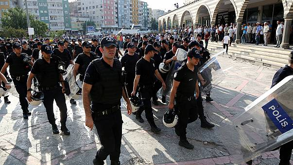 Turkey suspends more than 12,000 police officers