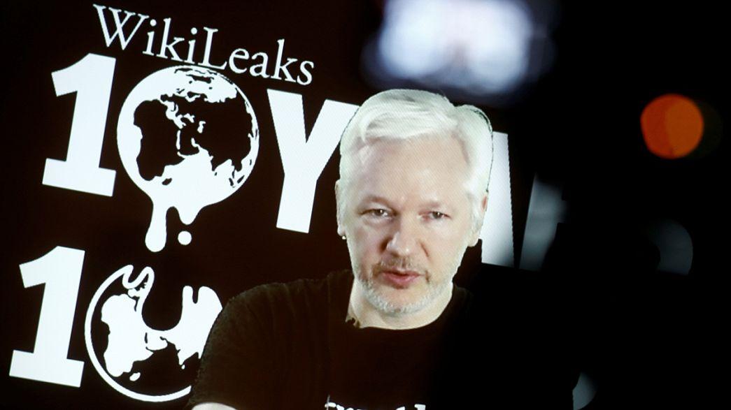 WikiLeaks anuncia nuevas revelaciones, algunas relacionadas con las elecciones de EE.UU.