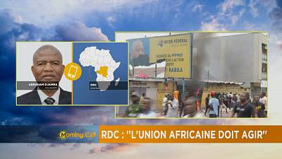 RDC :  ''L'Union africaine doit agir'' [The Morning Call]