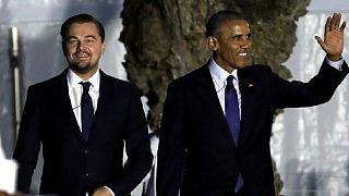 Obama et DiCaprio contre les changements climatiques