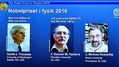Le Nobel de physique décerné à trois Britanniques