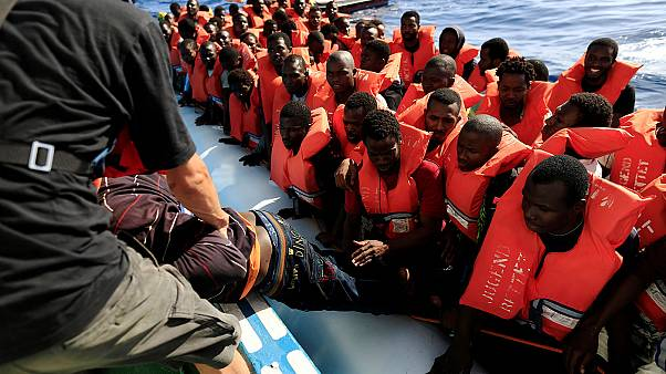 6000 мигрантов спасены за один день в Средиземном море