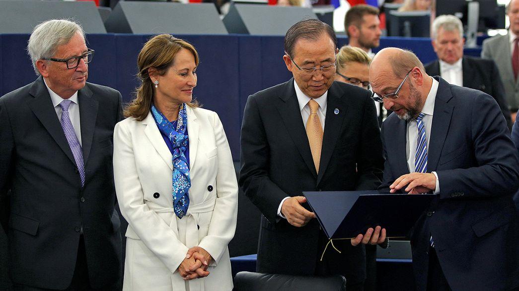 Europaparlament macht den Weg für Weltklimavertrag frei