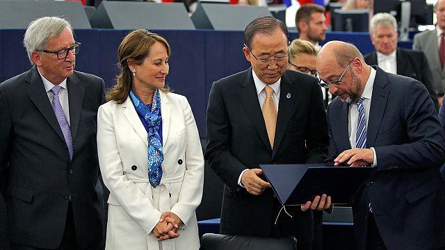 البرلمان الأوروبي يصادق على معاهدة باريس للمناخ
