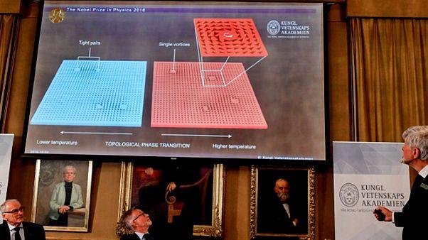 Három brit tudós kapta megosztva a fizikai Nobel-díjat