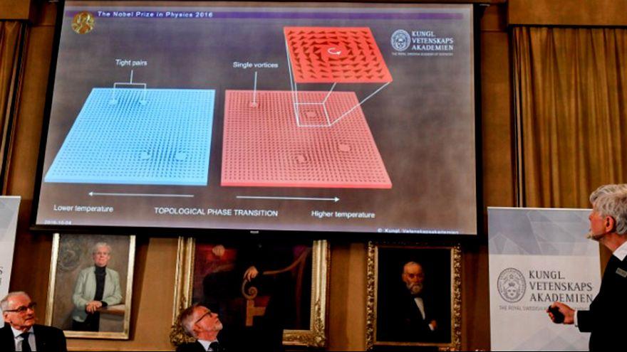 Nobel de Física: los nuevos horizontes que abren los estados de la materia