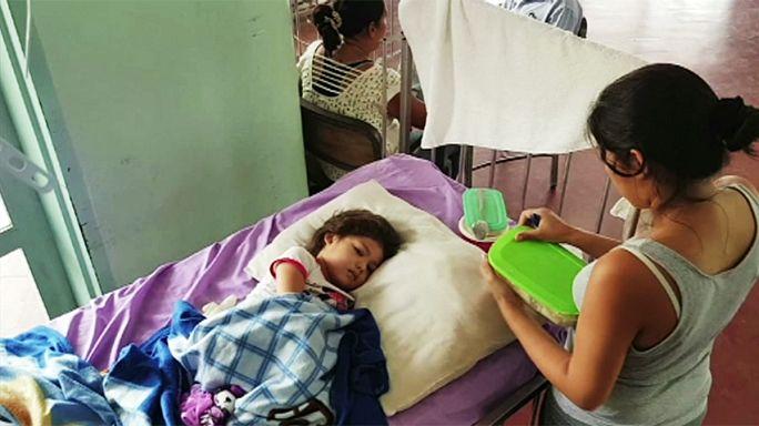 Детям Венесуэлы даже простая царапина грозит смертью