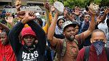Tandíjemelés ellen tüntettek Dél-Afrikában