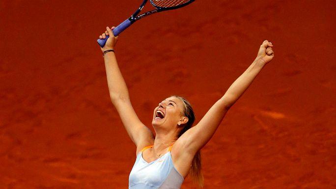 Suspension réduite pour Maria Sharapova