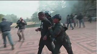 Nouvelles manifestations contre la hausse des frais universitaires à Johannesburg