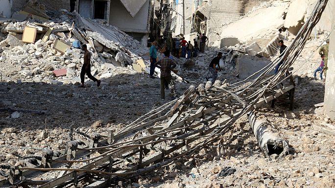 A szíriai ellenzék apró sikerei Aleppónál