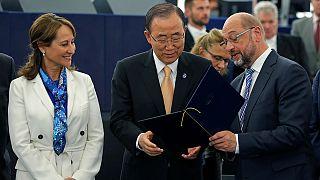 Le Parlement européen entérine l'accord de Paris sur le climat