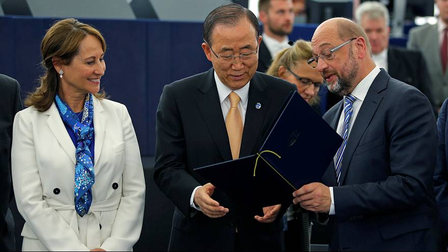 Los eurodiputados aprueban por amplia mayoría el acuerdo climático