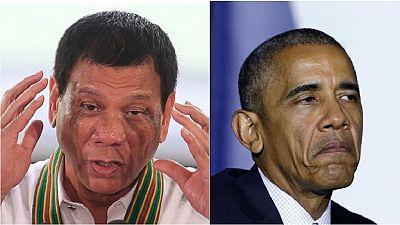 """Obama peut """"aller au diable"""" selon le président des Philippines"""