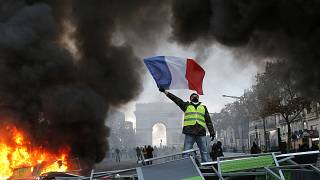Image: France Protests