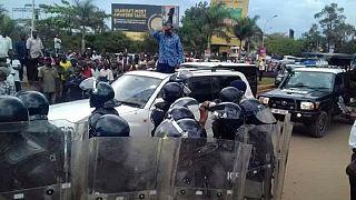 Besigye 'kidnapped' on return to Uganda, police says it was 'preventive arrest'
