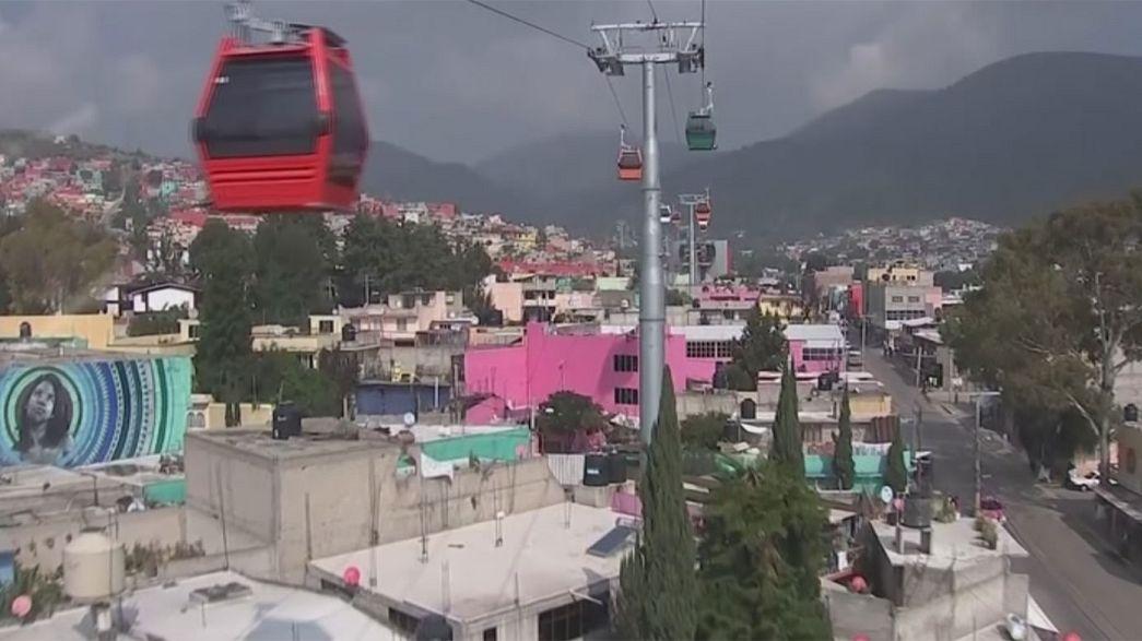 Le téléphérique urbain conquiert Mexico