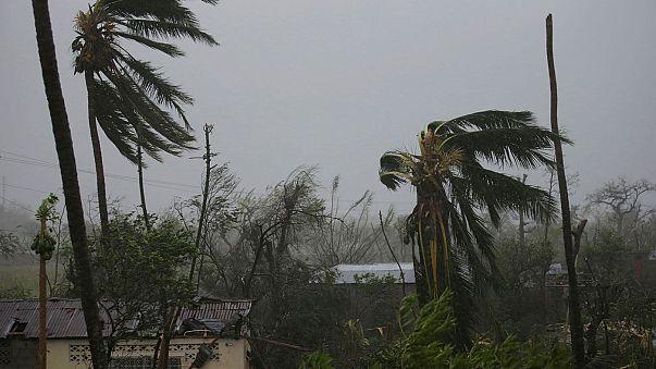 """Schwere Überschwemmungen wegen Hurrikan """"Matthew"""" in Haiti"""