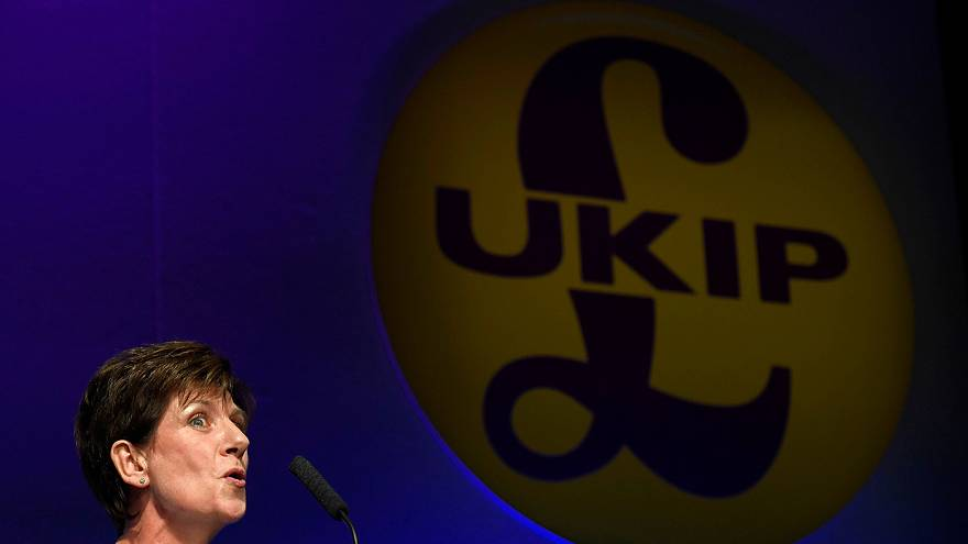 GB : démission de la dirigeante du parti anti-immigration Ukip